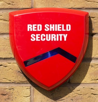 Red Shield Dummy Bell Box