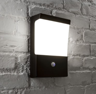 MIGHTYLITE ELITE 16W LED Dusk to Dawn Wall Light with PIR